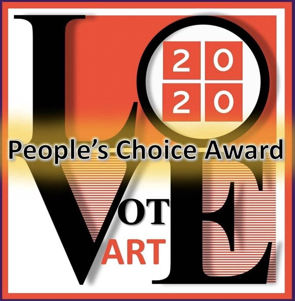 #loveartexhibition #VOTE  The People's Choice Award voting ends on Friday 27th Nov - don't forget to VOTE for your favourite piece this year!