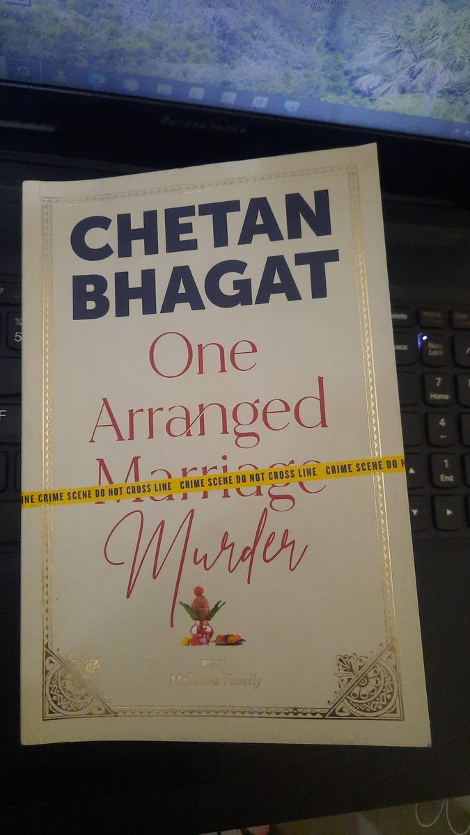 @chetan_bhagat What a master piece👏👏 One of the most crime thriller book ever. #onearrangedmurder #chetanbhagat