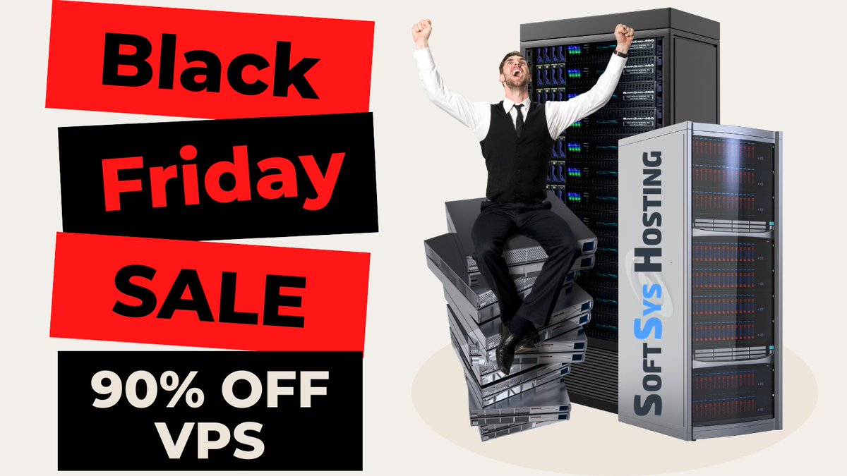 If you are looking for the BEST VPS Hosting Deals this Black Friday, you're in the right place!   Get 90% OFF on new Linux+Windows VPS servers  Info: https://t.co/rzCR8YVe7O  #VPSHostingDeals #VPS #WebHosting #SSDVPS https://t.co/WTXDnuhO3H