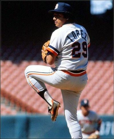 Aurelio López 🇲🇽was an integral part of the 1984 WS champion @Tigers staff. Señor Smoke went 10-1, pitched in 71 games, logged 137.2 IP w 2.94 ERA. More in @SABRbioproject @sabr bio https://t.co/fGQjkortTV https://t.co/g5zNOopHIM