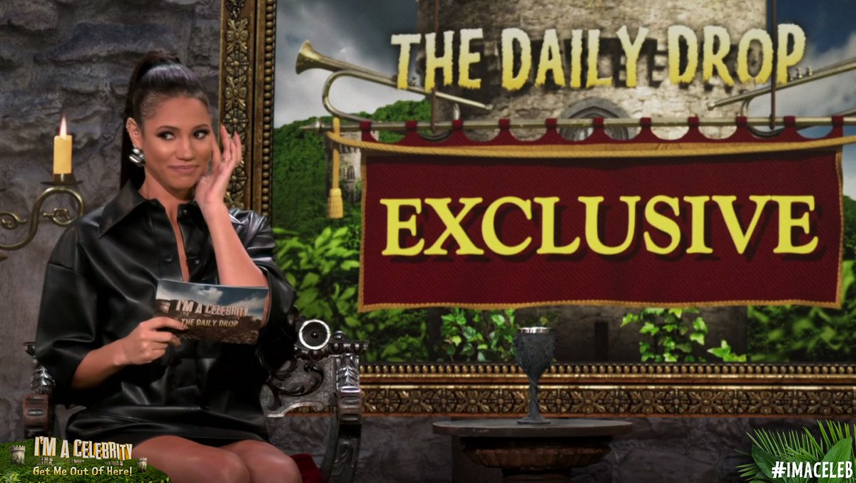 Head over to #TheDailyDrop where @VickNHope chats to @dev_101, @CharlotteHawkns and @arron_crascall about the trials and tribulations in the Castle... 🏰  You'll also hear some very exciting Camp exclusives 👉 https://t.co/NR4irfVLNm #ImACeleb https://t.co/9hXXXs1jo3