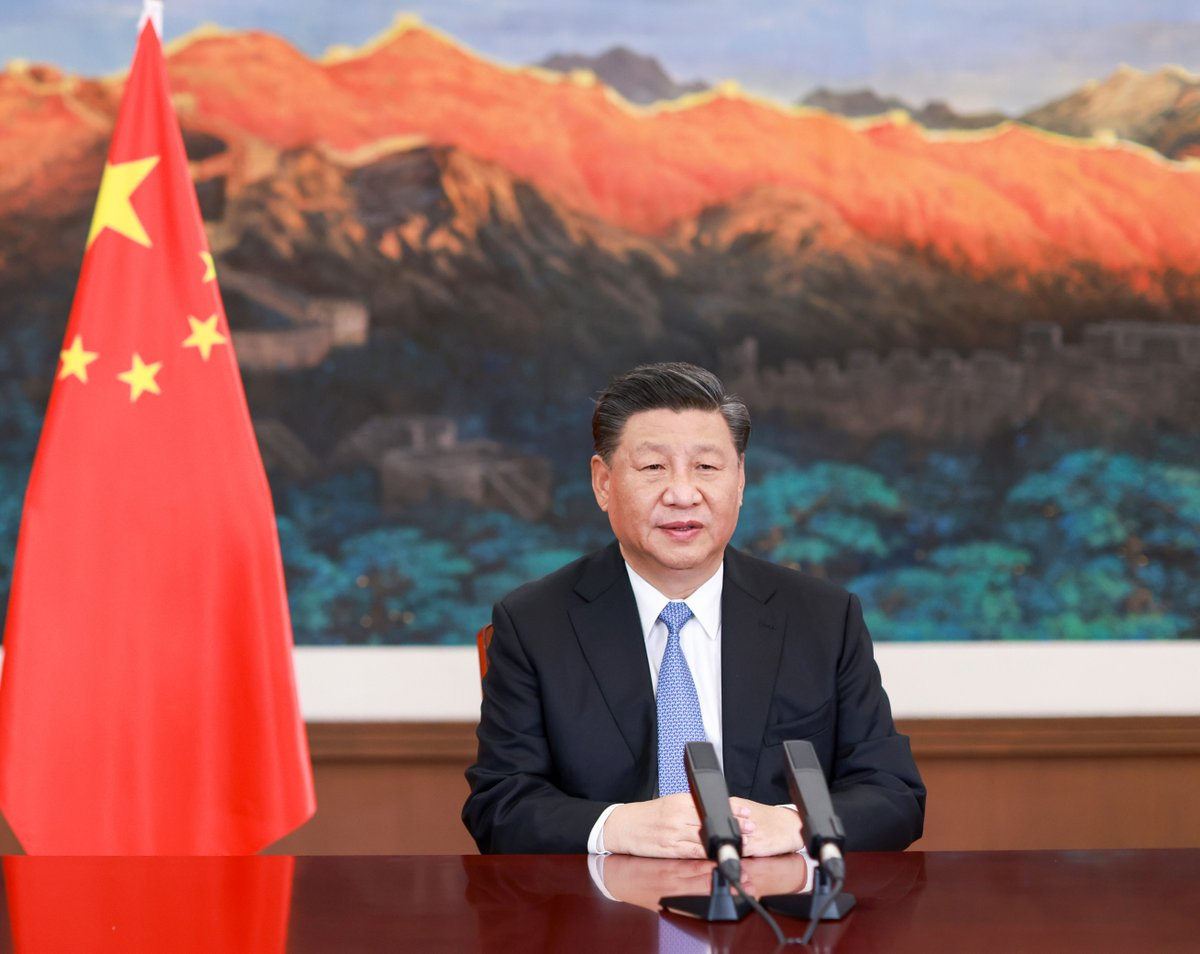 Chinese President Xi Jinping sends a congratulatory message to President-elect Joe Biden, more than two weeks after US media called the race