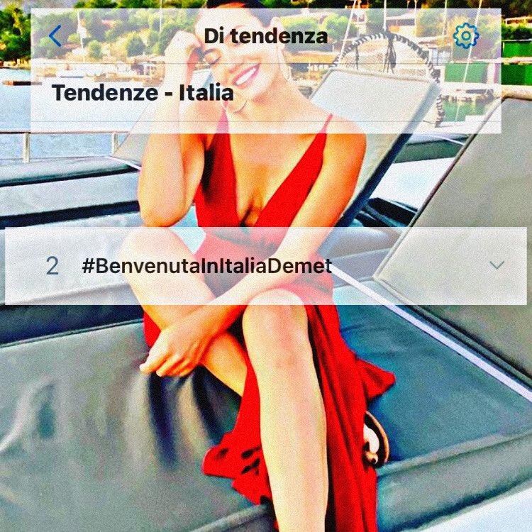 #ItalyWantsDEK