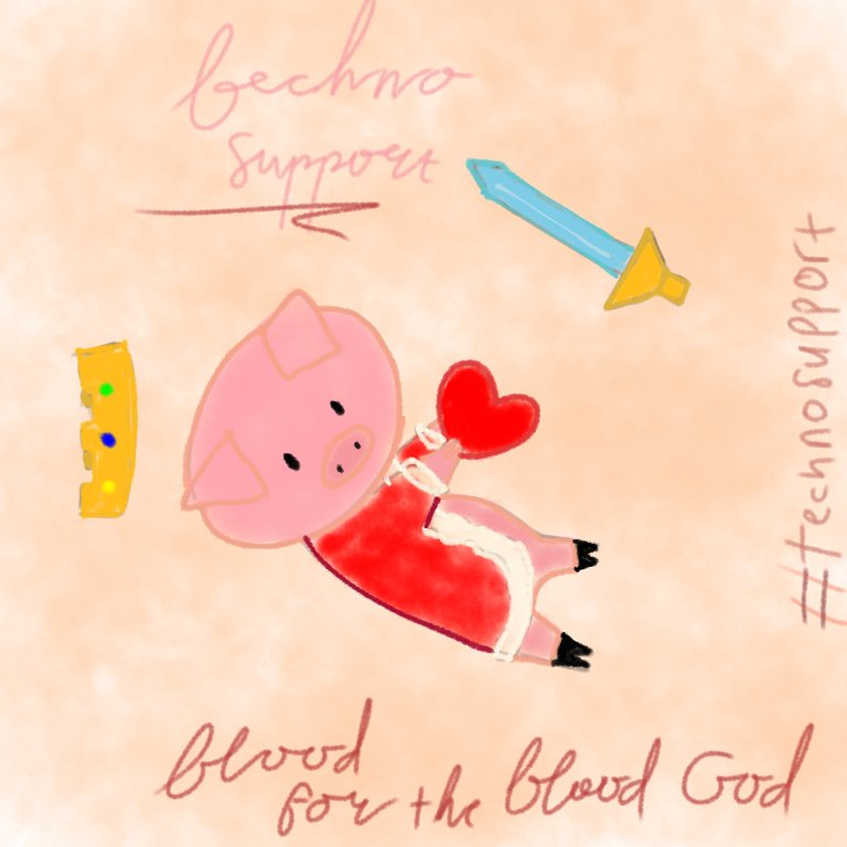 Aight lets trend the #TechnoSupport  !!! This is just doodle:] reply this with ur fave lines, fave edit, fave clip or just counting orphans with hashtags!  I HOPE YOU HAVE A GOOD DAY AND MERRY CHRISTMAS MR. BLADE HOHOHO