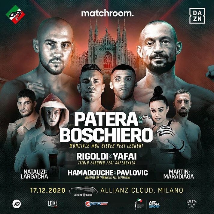 @paterafrancesco23 vs @devis_boom_boom_boschiero  for main event of the Dec 17 in #milan  Follow👇 @ChamberSportz  #boxing #BoxingDay #boxingtwitterscreenshotfrenzy #ESPNPlus #CaneloSmith #miketyson #Milan https://t.co/xfjIF6zl03