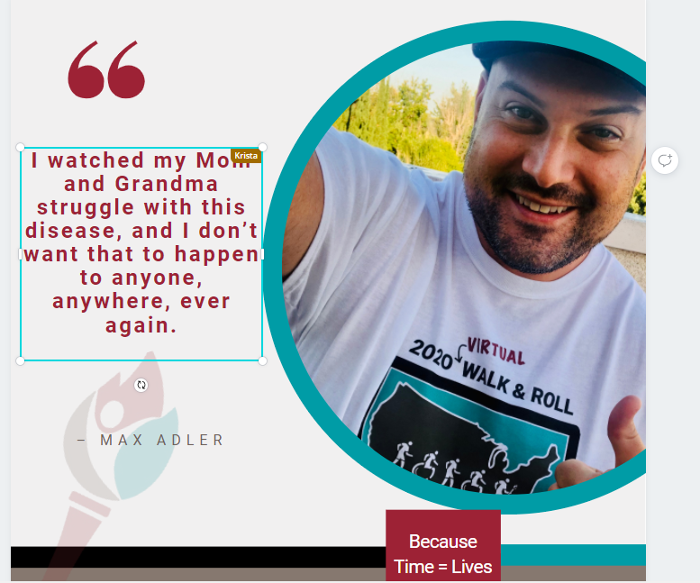 .@Mr_Max_Adler  has been working to raise awareness and funds for #FSHD research for nearly a decade. Catchup with Max during our #GivingTuesday Radiothon - Dec 1st - starting @ 8a CT on FB Live. Check the schedule:  Join us here: