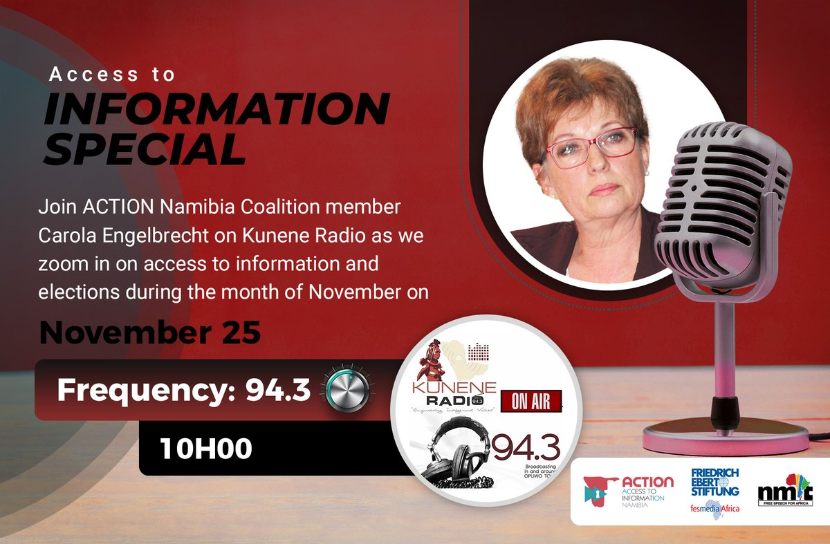 This election is much closer to home, last year we voted for the president who is usually out of our reach but the constituency councillor is one that you can & must approach -Carola Engelbrecht Tune in on Kunene Radio  for the full interview.  #IWillVote