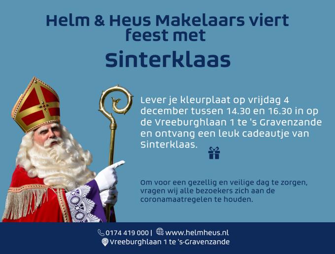 ADV; Helm & Heus Makelaars viert feest met Sinterklaas https://t.co/SDHbu1bhCC https://t.co/HAkcXZyPgD