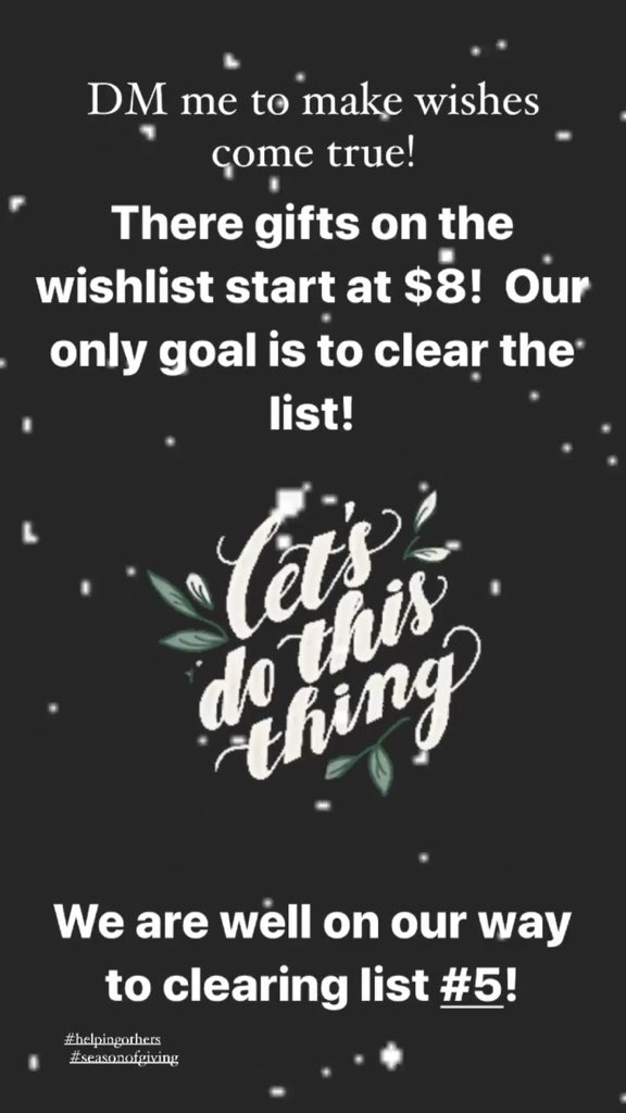 Who wants an easy way to help make some holiday wishes come true?  I've got some amazon wishlists from @TheBlackFairyG1 that i can share!  DM me!  #theblackfairygodmother #seasonofgiving #Wishlist