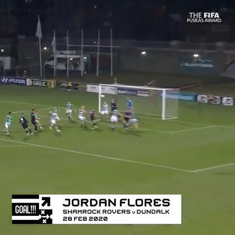 🏆Prix #Puskás😍  Chaque jour, on met en lumière l'un des 11 candidats.  Aujourd'hui : Jordan Flores 🏴💪  🗳️VOTEZ👉   #TheBest | #FIFAFootballAwards