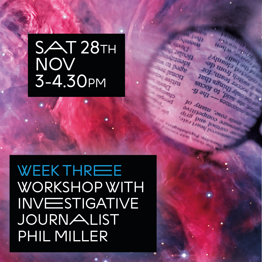 Next up in Radio Stars is a workshop by @pmillerinfo from @declassifiedUK on investigative journalism. Learn top tips on how to hold the government and companies to account🧐🧐🧐Open to all 12 - 17yr olds. Saturday at 3PM via Zoom >>> shorturl.at/cgkzF