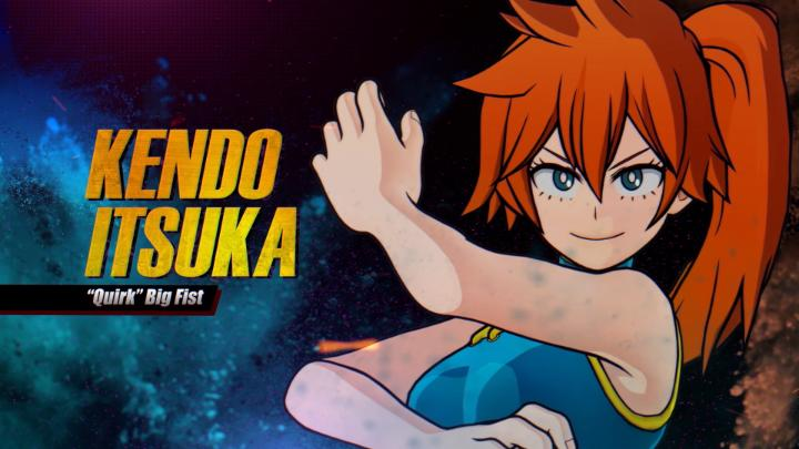 Flex your skills and take down the bad guys, Class 1-B style. #MHOJ2  Itsuka Kendo arrives today to MY HERO ONE'S JUSTICE 2!