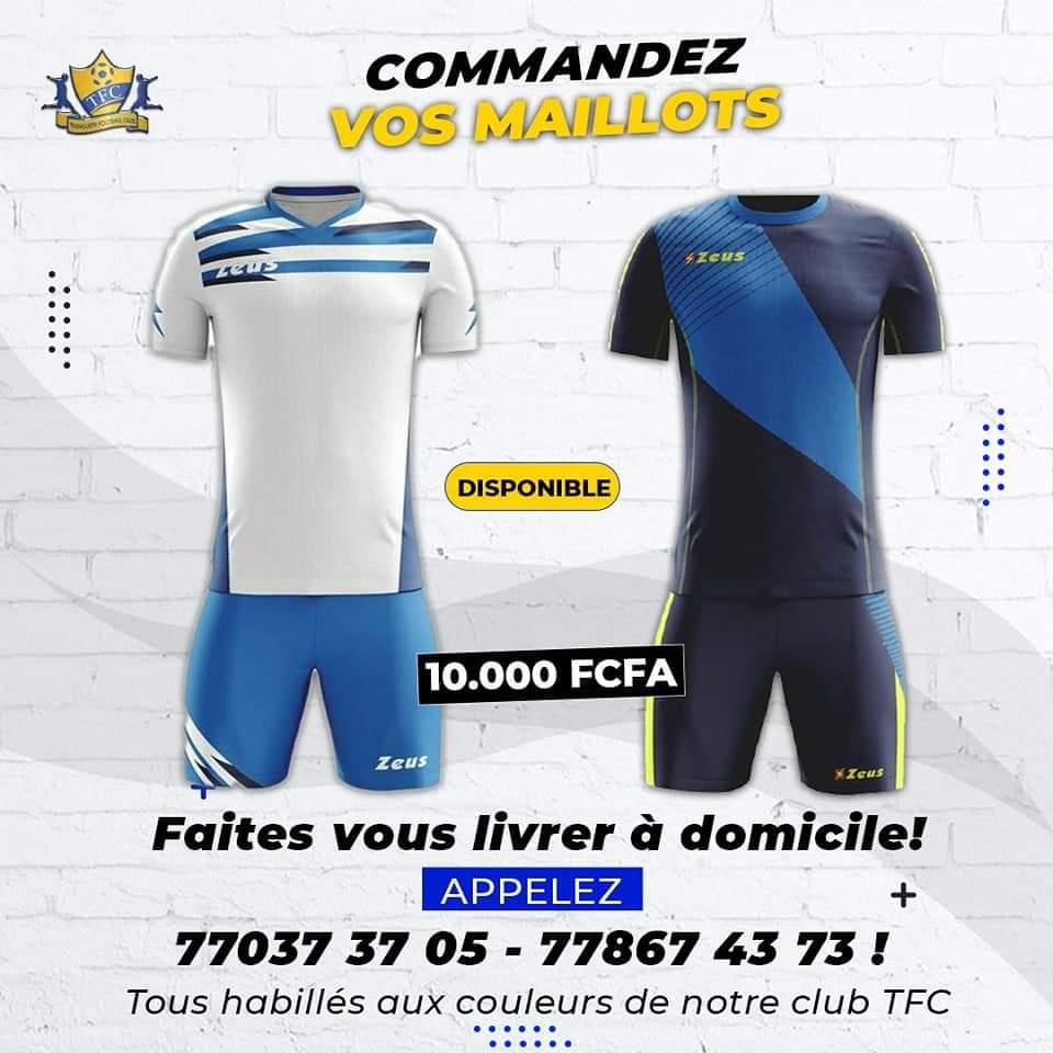 #FootArt : Teungueth FC, représentant du Sénégal en Champions League, a mis ses produits en vente. Vous pouvez même vous faire livrer à domicile. La commande peut se faire via les numéros de téléphone suivants : +221 77 037 37 05 et ou  +221 77 867 43 73. Donnons leur de la force https://t.co/PAFTowWRZF