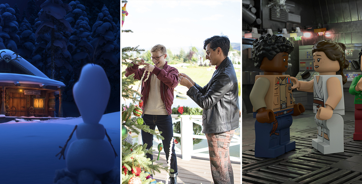 Every new holiday special and movie you can stream on #DisneyPlus: