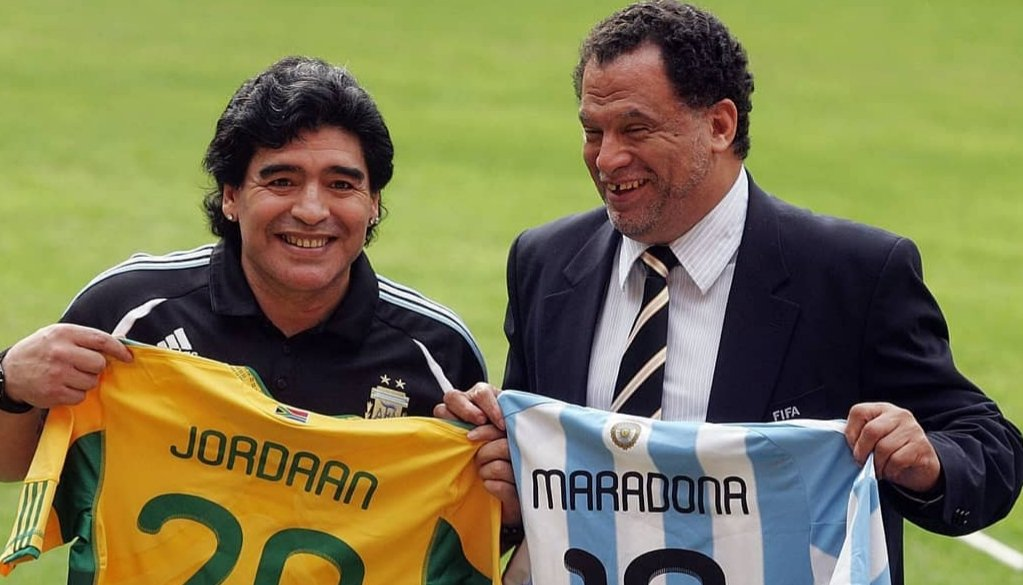 SAFA is joining the rest of the football world in mourning and saying farewell to one of the greatest football icons ever to live on this earth.  RIP Diego Maradona