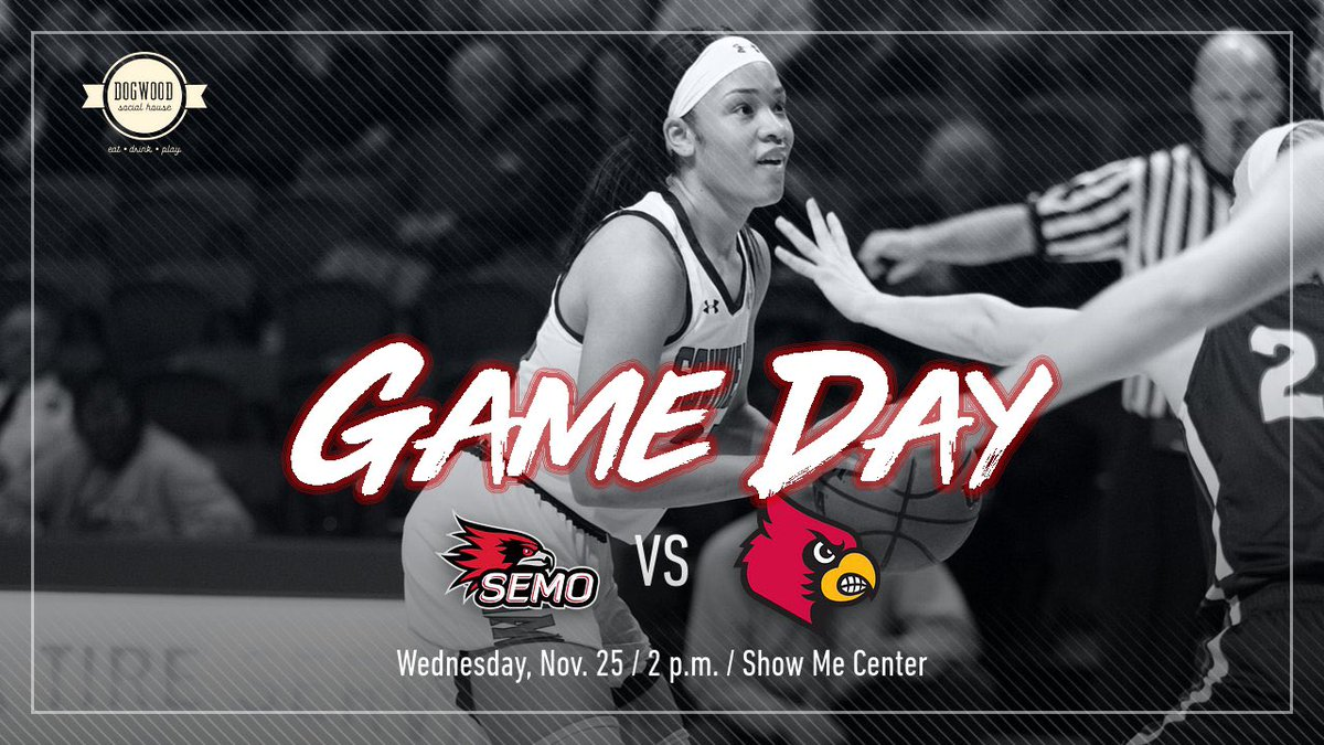 I am so looking forward to watching the defending #OVCChamps @OfficialSEMOWBB take on #Louisville today on #ESPNPlus! S-E! #LetsSoar https://t.co/99Psx9RN2F