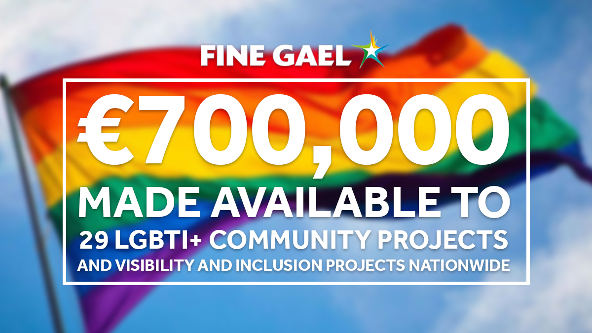 🌈 This week, €700,000 has been made available to 29 LGBTI+ community projects and visibility and inclusion projects nationwide. https://t.co/pCowJu4ktE