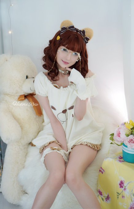 1 pic. I am beary happy to share these with you 🐻   Yet another casual Hidori set in the works, going