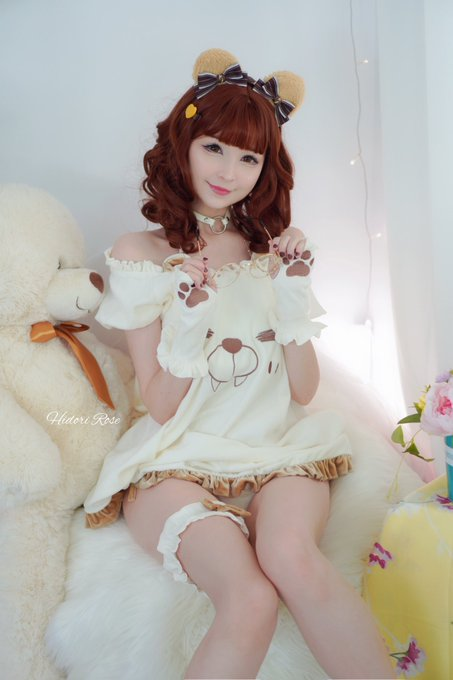 2 pic. I am beary happy to share these with you 🐻   Yet another casual Hidori set in the works, going