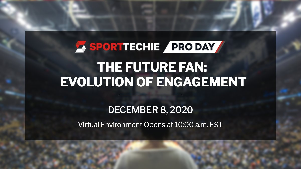 Register today for The Future Fan: Evolution of Engagement PRO DAY on Tuesday, December 8 at 11 a.m. ET. Learn from presenters on three tracks:   ☑️ Lessons from the Bubble ☑️ Spotlight On Gen Z ☑️ Adapting Content for the Modern Fan  Learn more: https://t.co/TXeh6S2mFq https://t.co/d5VtPYmKeH