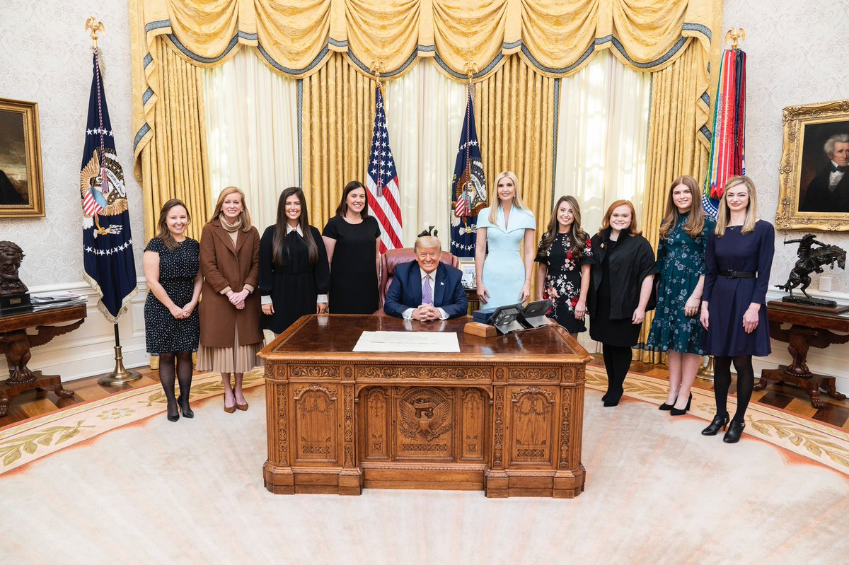I am very thankful for this team of brilliant, formidable and kind women who have fought to lift up American workers and families with full hearts and deep devotion for the past 4 years.