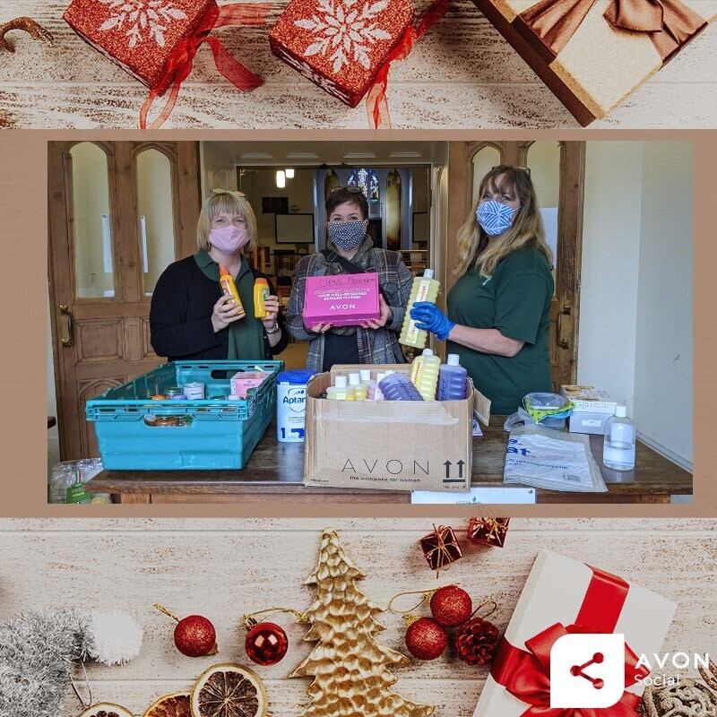 The #AvonUK toiletries obtained through your generosity were delivered today to the @TrussellTrust in #LeamingtonSpa for their #foodbanks   Thank you all once again #generous  #charity #children #help #nonprofit #donate #fundraising #HungerFreeFuture