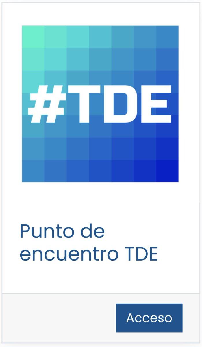 📲 Accede con tu usuario idEA si eres coordinador #TDE de tu centro educativo@EducaAnd @TDE_Almeria