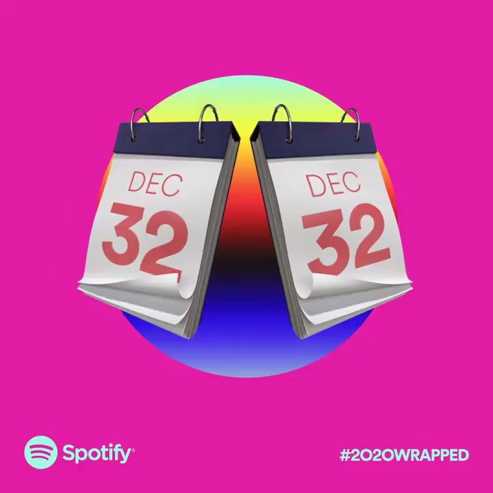 "To the creators of the 46 ""Is it 2021 yet"" playlists, thank you for looking out.   #2020Wrapped is coming soon."