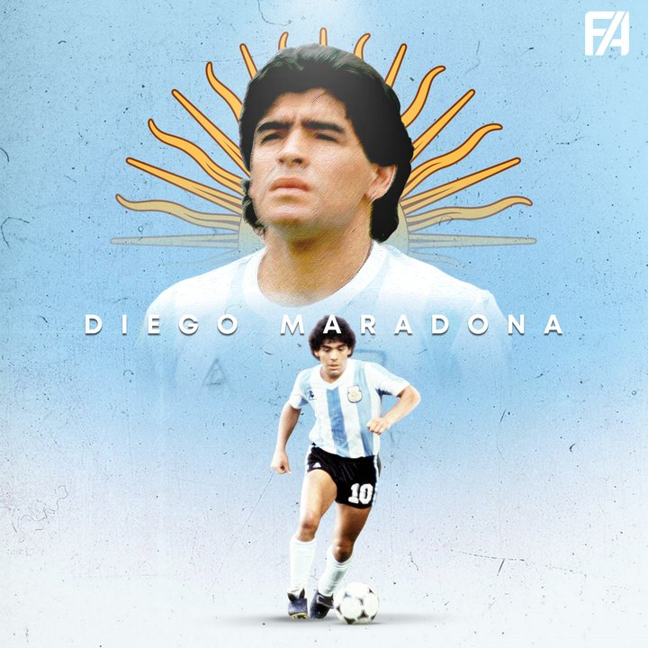 Football legend Diego Maradona  Is Dead! Aged 60