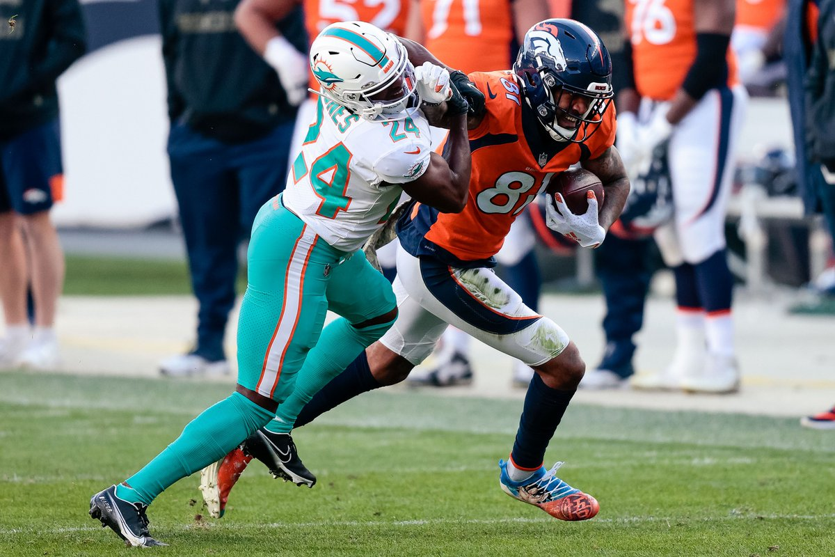 How #Broncos' WR Tim Patrick Dominated Miami's Formidable Veteran Cornerbacks  https://t.co/xweN69YcEW https://t.co/7Fyma4ogo9
