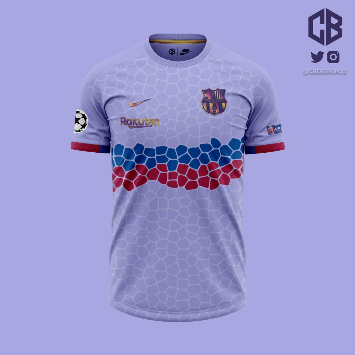 ✏️ FC Barcelona | Away 👕 Nike  #FCB #FCBarcelona #ForçaBarça #Barcelona #Culers #OnlyForCulers #Messi #Griezmann #Koeman #Blaugrana #Barça #Nike #ConceptKit #KitDesign #FootballKitDesign #CBKits  If you like it, please 🔄 and ❤. Thank you for the suggestion @Footy_Headlines!