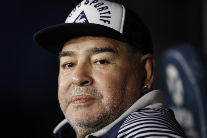 RT @TV5MONDEINFO: Diego Maradona est…