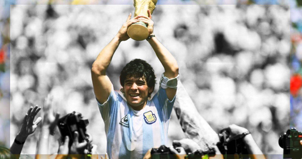 One of the greatest to ever do it. Our thoughts are with the friends and family of Diego Maradona. https://t.co/zl1zzDHiS1