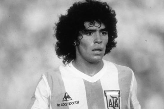 Rest in Peace to football icon Maradona
