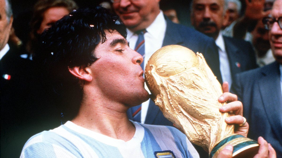 Replying to @LokeshJey: BREAKING: Diego #Maradona, the soccer icon who led #Argentina to glory, has died at 60