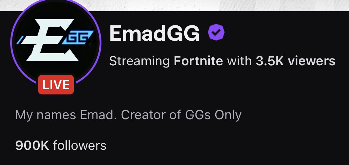 Emad - Thank you for 900k GANG ❤️