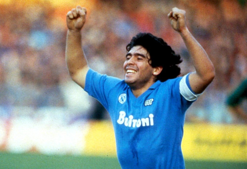 Replying to @en_sscnapoli: Always in our hearts 💙  Ciao, Diego