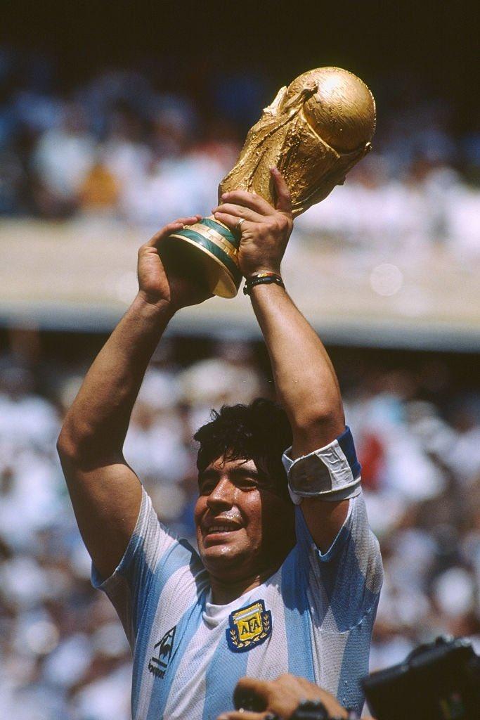 #RIPMaradona The Legend... One of the greatest footballers⚽... The God Of Soccer. #Maradona #DiegoMaradona