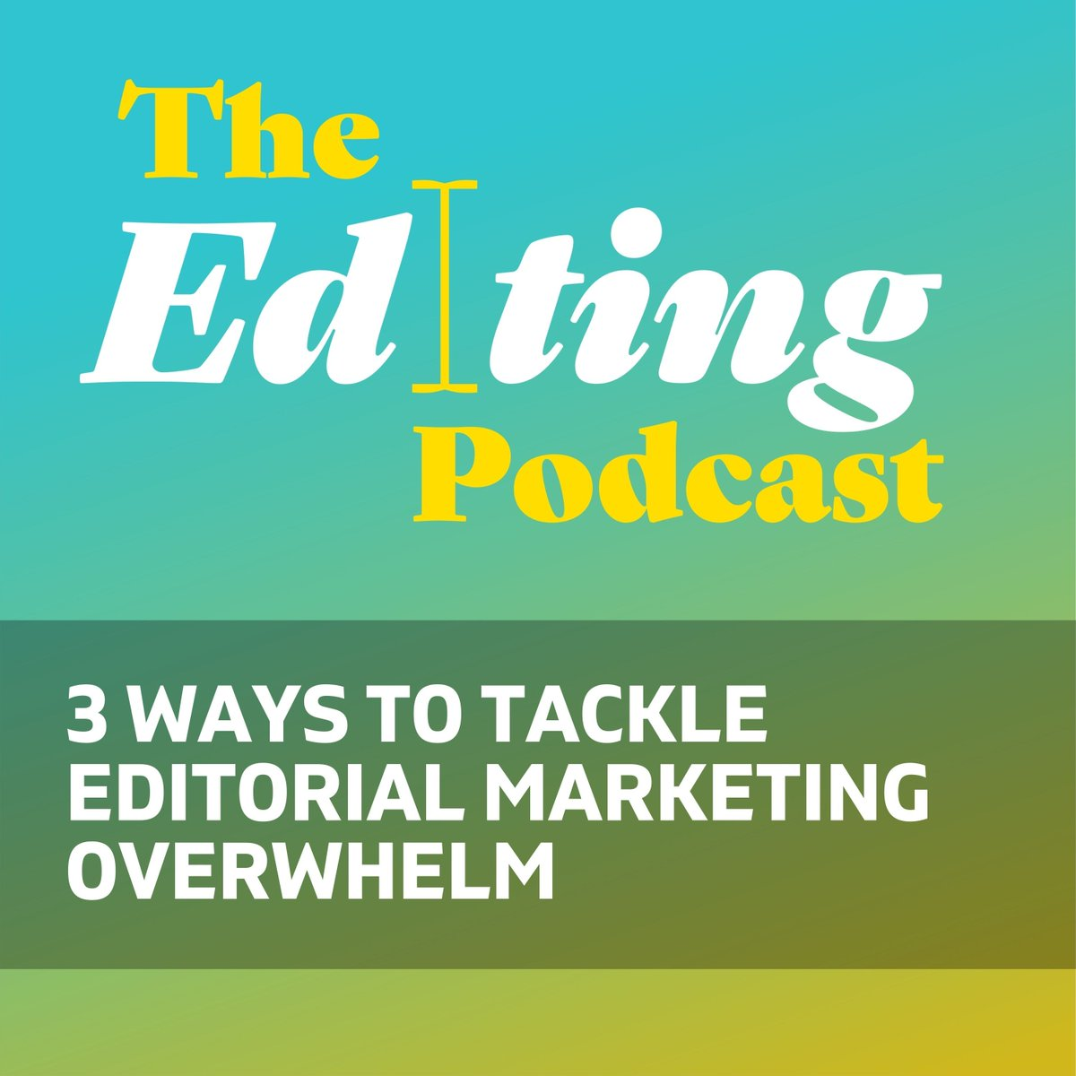 NEW on The Editing Podcast:🎙️ Me and Cowle are chewing the fat again. This time its about marketing for editors and proofreaders. We have 3 tips on how to overcome the fear! player.captivate.fm/episode/a7b3b0…