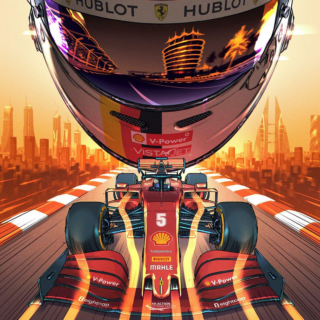 ☑️ Scuderia Ferrari'nin Bahreyn için hazırladığı özel poster! #F1 https://t.co/OQ7BcmYTOP