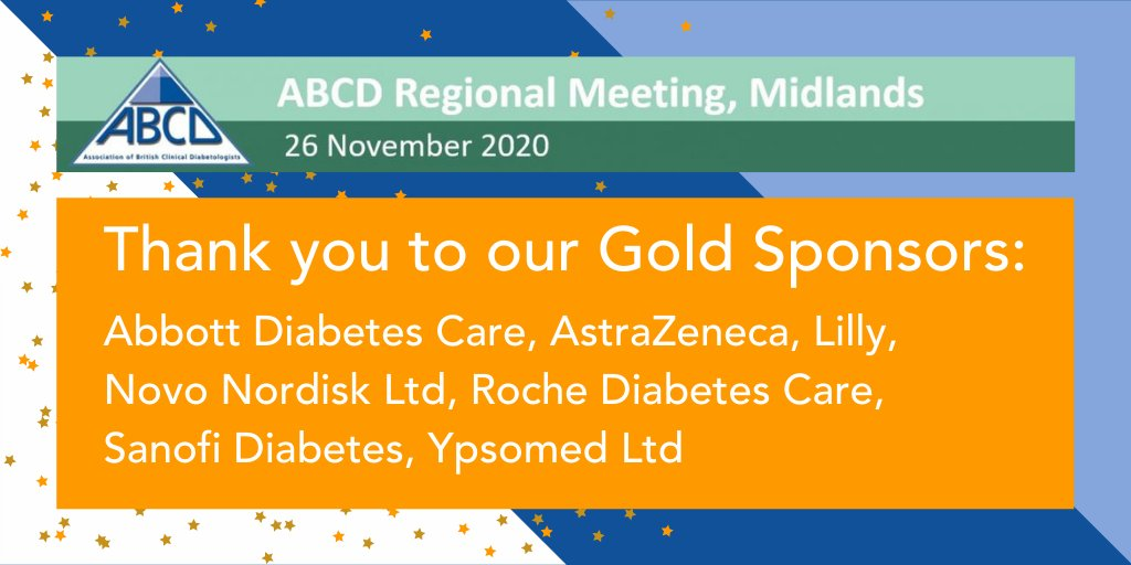test Twitter Media - Many thanks to our Regional Meeting Midlands gold sponsors whose support has enabled tomorrow's educational event to be provided free of charge to delegates: Abbott Diabetes Care, AstraZeneca, Lilly, Novo Nordisk Ltd, Roche Diabetes Care, Sanofi Diabetes, Ypsomed Ltd #RMM2020 https://t.co/Q1OUkUHqvD