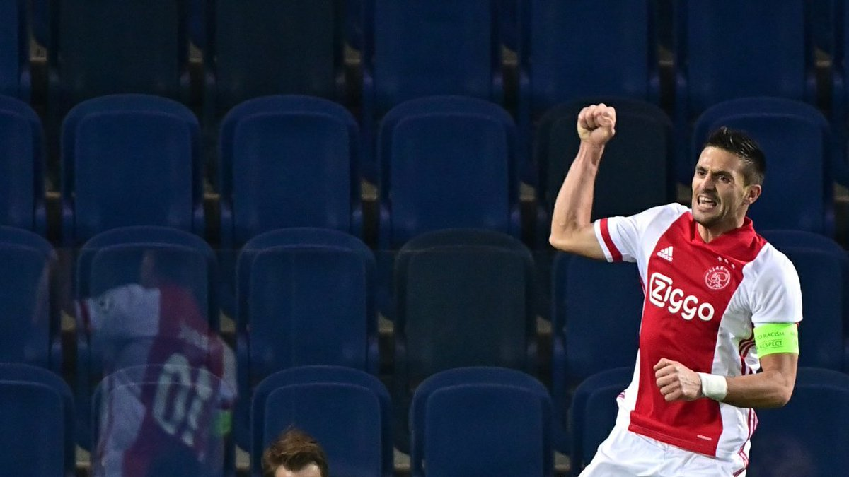 Ajax's last seven fixtures in all competitions:  Scored 13 against VVV-Venlo Scored 2 against Atalanta Scored 5 against Fortuna Sittard Scored 2 against Midtjylland Scored 3 against FC Utrecht Scored 5 against Heracles Scored 3 against Midtjylland  A mesmeric watch.  #UCL https://t.co/AOYywXir2C