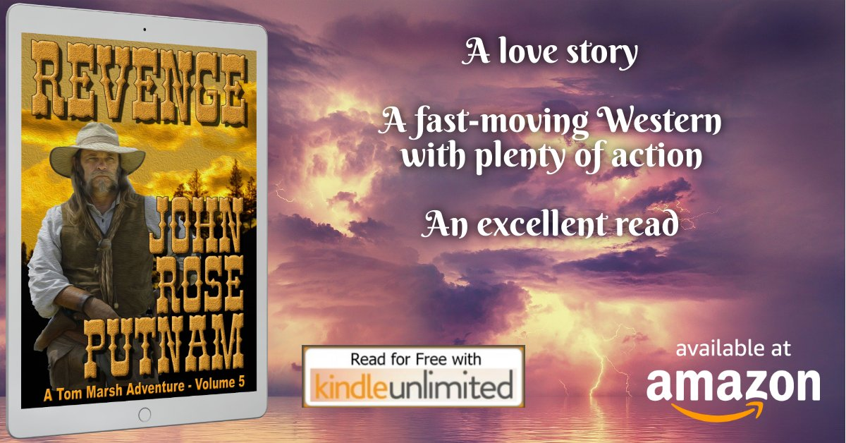 ❈REVENGE❈ A powerful #WESTERN https://t.co/N9BEAad6V2  Tom flattened Zeke in a fight  so the drunk swore to kill him.   Now Tom has to meet his new bride in  San Francisco. They're both in trouble.  #ADVENTURE #ROMANCE FREE ON KINDLE UNLIMITED https://t.co/kgE3gRY6o4