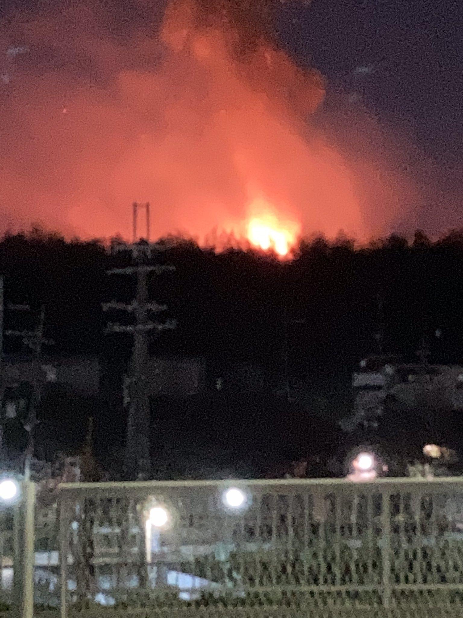 画像,桃山台火事#桃山台 #火事 https://t.co/Q7Tfp2UWoS。