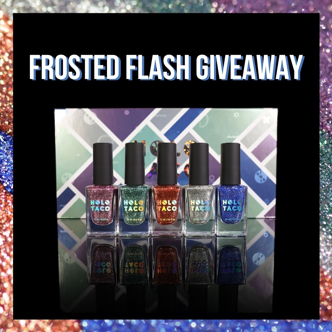 It's beginning to look a lot like Cristmas!❄️ We're giving away our new Frosted Metals Collection Set to 5 lucky Twitter followers! 🎉  To enter: 1️⃣ Follow @holotaco  2️⃣ Like & retweet! Ends tomorrow, 11/26 at 11:59pm ET. Must have an address in the countries Holo Taco ships to.