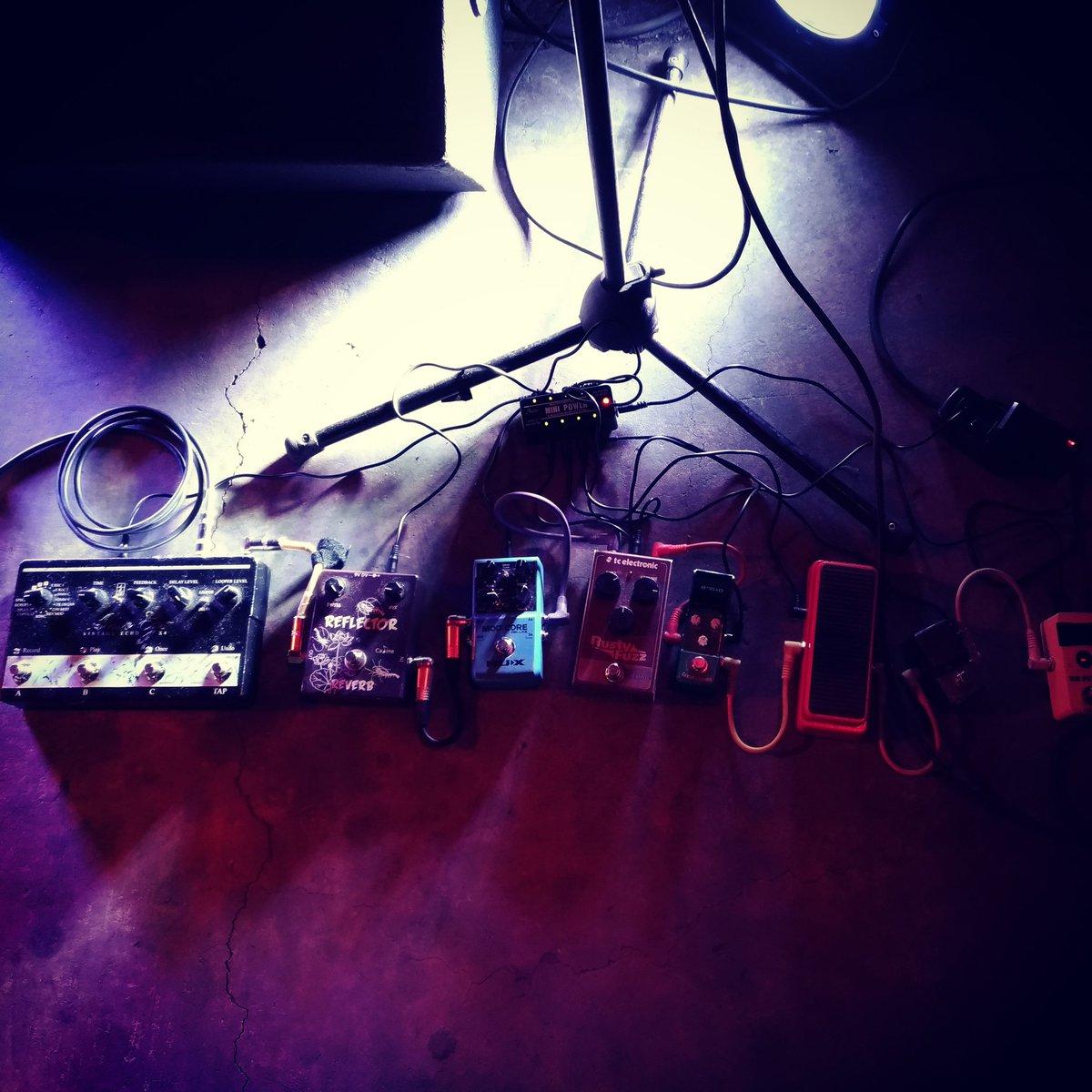 Gear 🔥🔥🔥🔥  #acidalicemx #acidalice #heavypsych #stonerrock #stoner #blues #guitar #guitargear #fuzz https://t.co/uIQfTFpULi