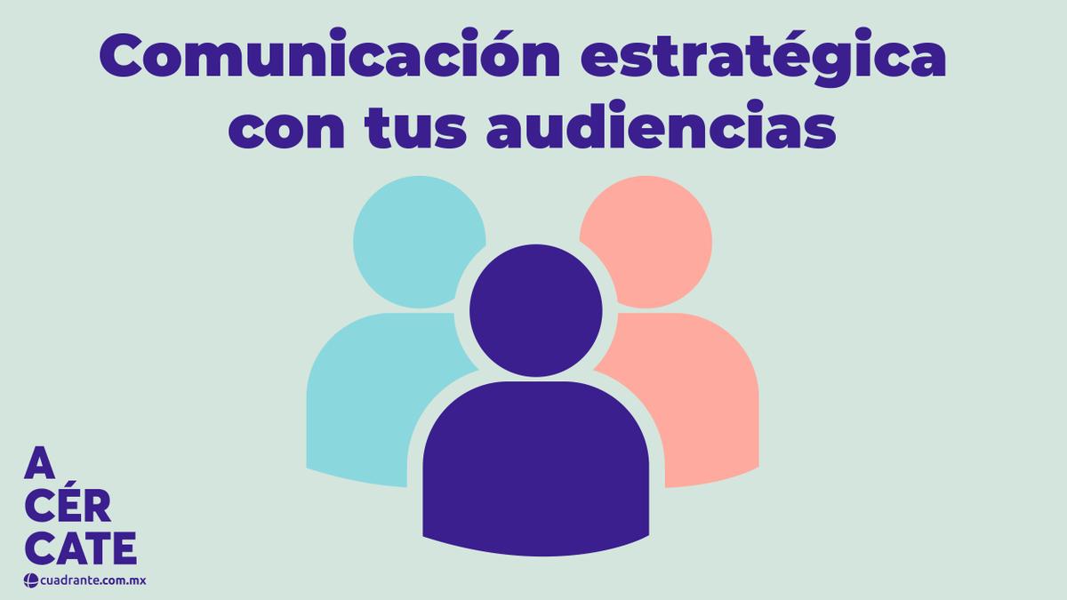Un proceso de comunicación es más estratégico conforme construye relaciones mutuamente beneficiosas entre las organizaciones y sus audiencias.  #Acércate a https://t.co/No9GRhLYR7 https://t.co/2QVGOdg1mW