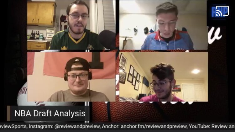 The replay of last night's @ReviewPreview1 w/ @AHop23 is available now on Facebook! Tune in for some awesome #NBADraft, #CFB, and #NFL analysis!