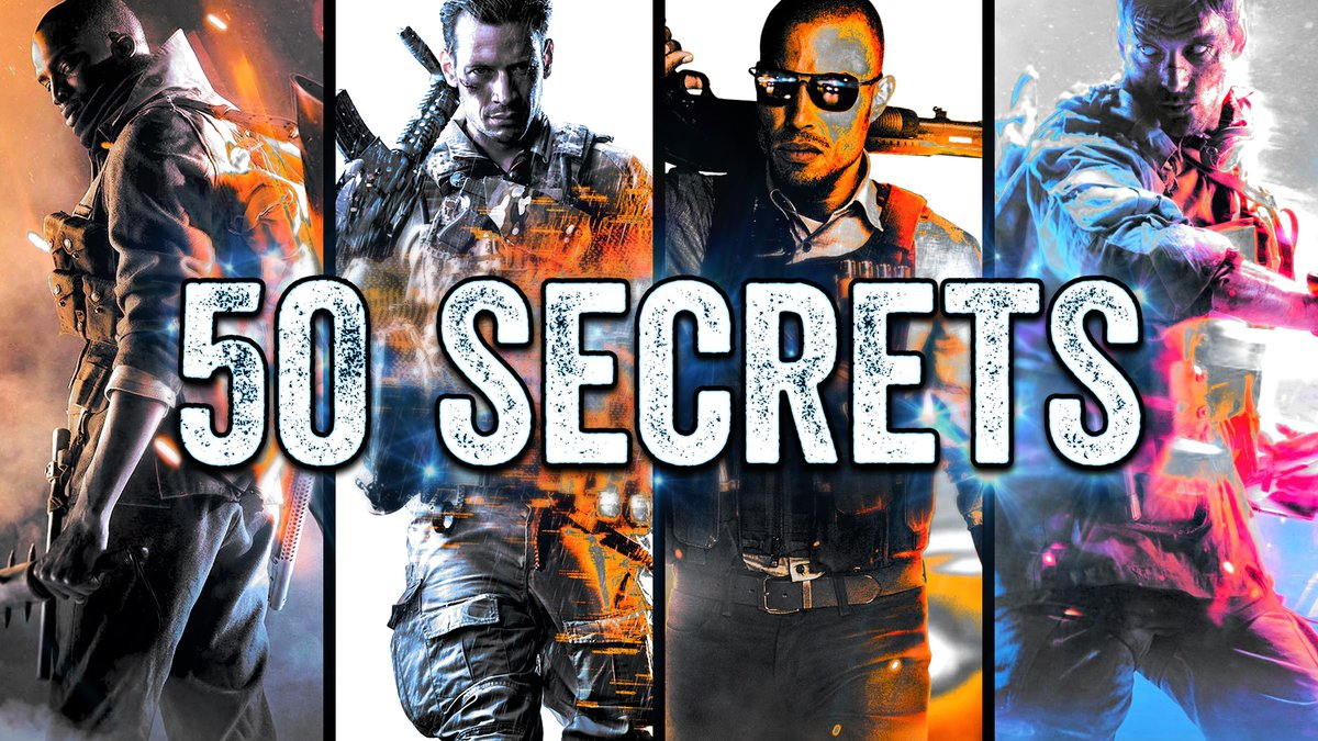 Lossy - Done! I spent two days working on this video. The top 50 amazing secrets across the #Battlefield franchise. I'm fairly sure I used up all of Ireland's internet uploading this. Any shares, likes, comments and views are greatly appreciated!