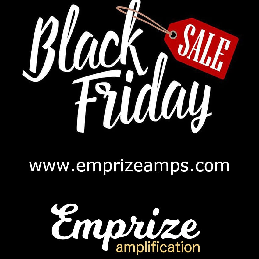 Black Friday is starting early at Emprize Amps.  Get a deal on a hand built and wired amp at https://t.co/ow4GhsyvOH.  #emprizeamps #valveamps #tubeamps #amplifiers #guitar #guitarist #guitaramplifiersofinstagram #fenderamps #fender #fenderchamp https://t.co/gDOlYFWRpD